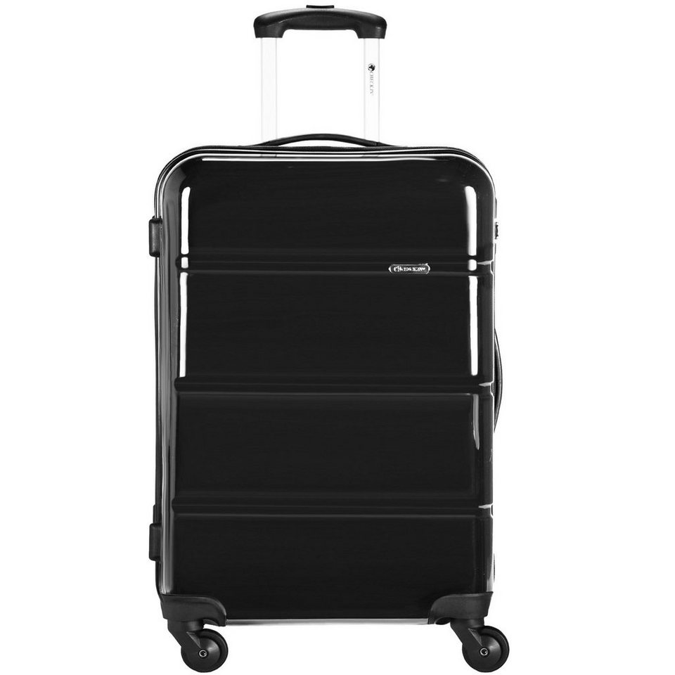 CHECK.IN CheckIn Paris 2.0 4-Rollen Trolley 69 cm in schwarz