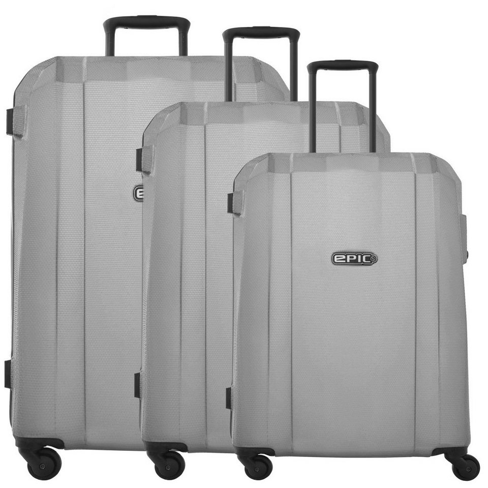EPIC GRX Hexacore 4-Rollen-Trolley Set 3-tlg. in darkGREY