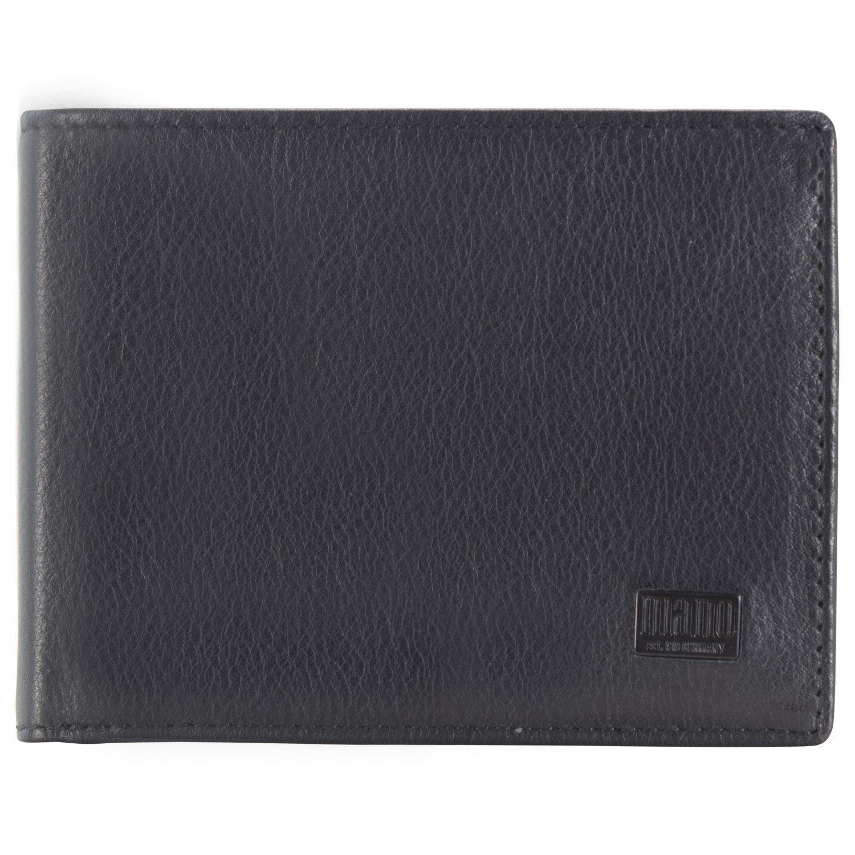 MANO Certo Geldbörse Leder 10,5 cm