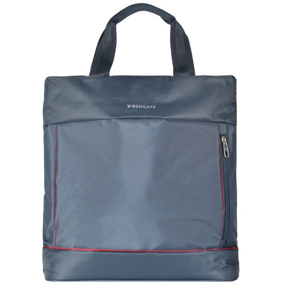 RONCATO Connection Shopper Rucksack Tasche 33 cm in petrol