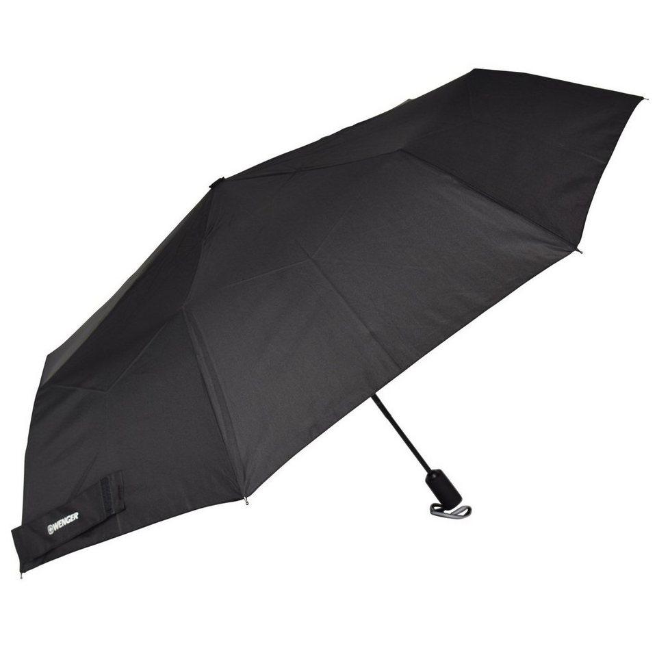 Wenger Wenger Umbrellas Rubberstyle Taschenschirm 34 cm in black