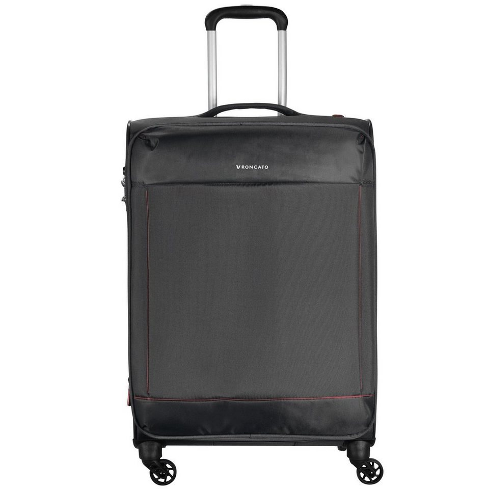 RONCATO Connection 4-Rollen Trolley 67 cm in nero