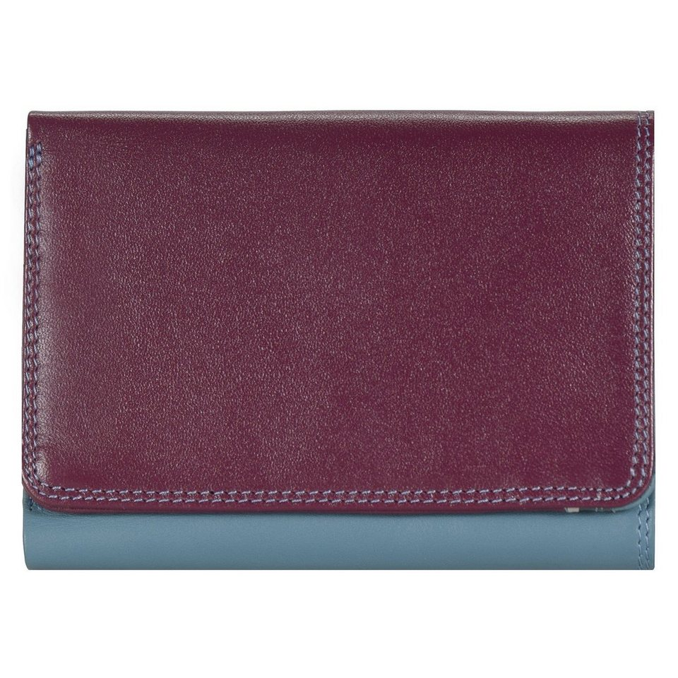 Mywalit mywalit Medium Tri-fold Wallet Geldbörse Leder 11 cm in winterberry