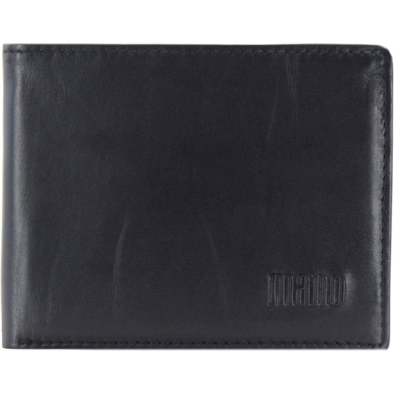 MANO Planus Geldbörse Leder 10,5 cm