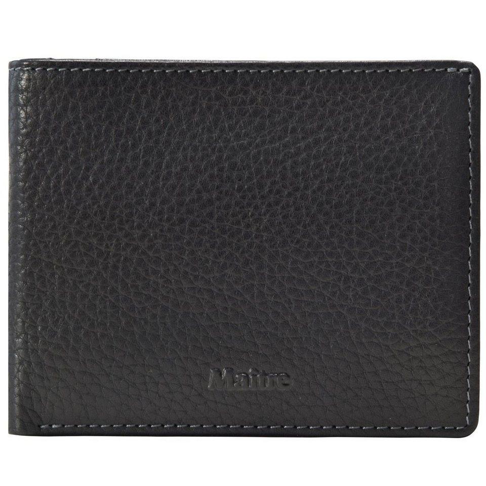 Maître Maître Prado Geldbörse Leder 12 cm in black
