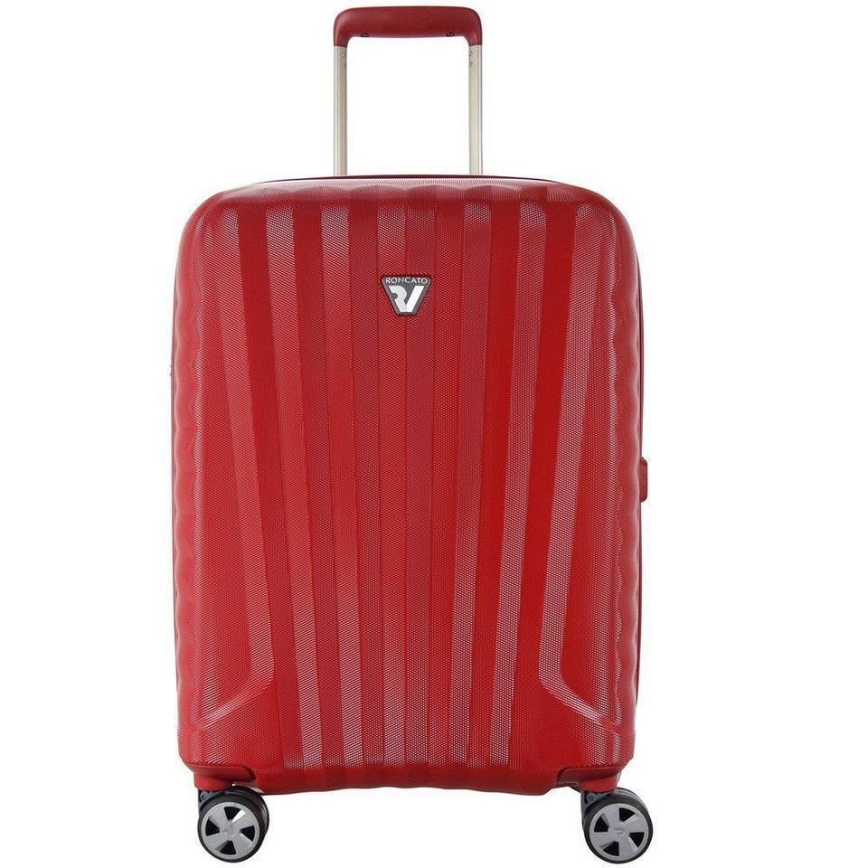 Roncato Roncato UNO ZSL Premium 4-Rollen Kabinentrolley 55 cm in rosso rosso