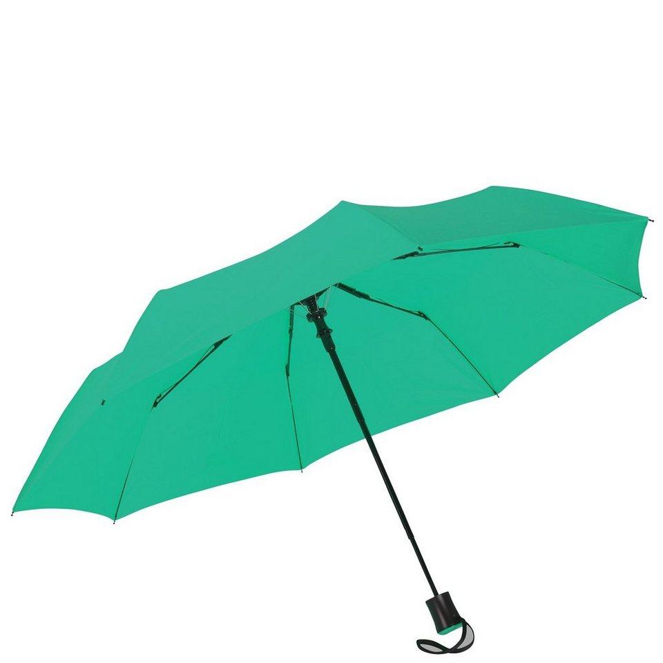 HAPPY RAIN Flash Mini AC Taschenschirm 30 cm in grün