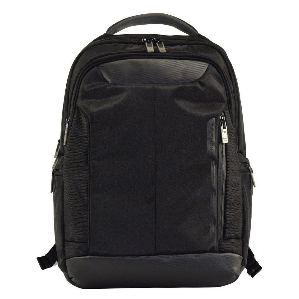 Roncato Roncato Overline Rucksack 45 cm Laptopfach in nero