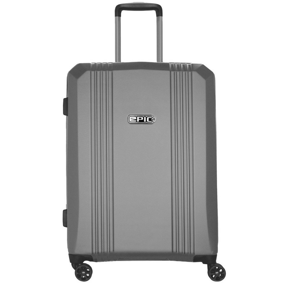 EPIC Airwave 4-Rollen Kabinentrolley 55 cm in silvercolored