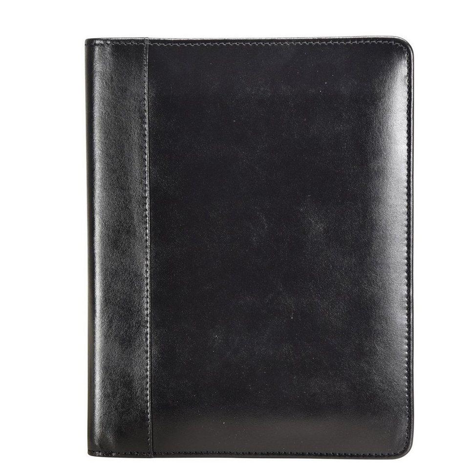 Esquire Esquire Eco Notizblock Leder 18 cm in schwarz