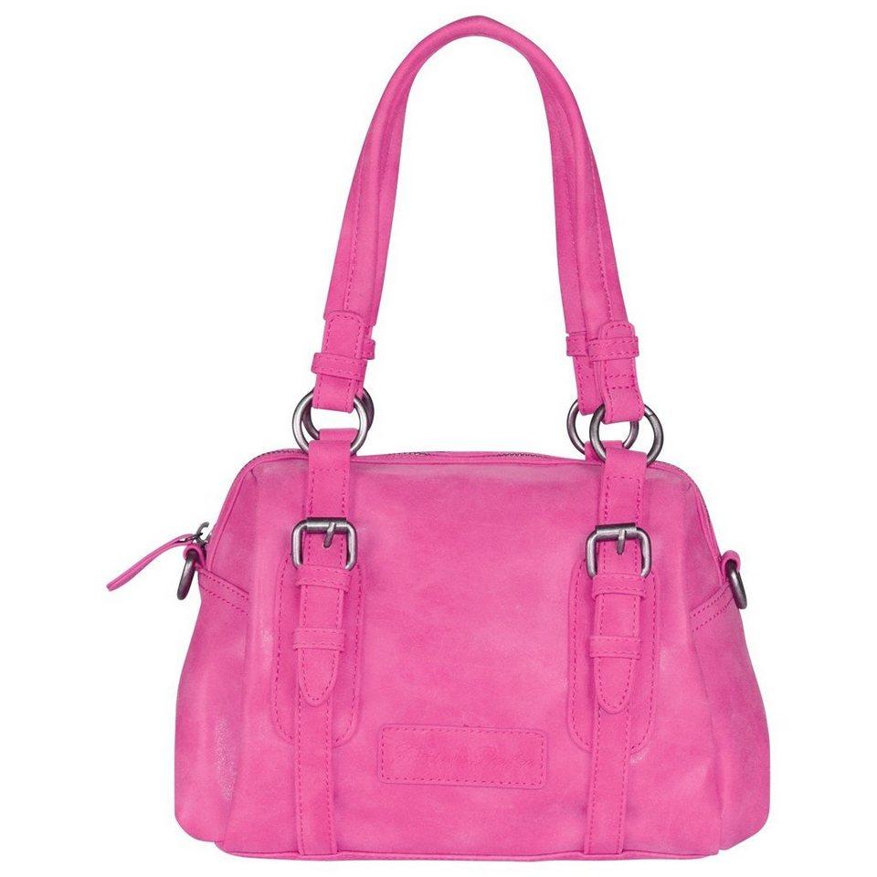 Fritzi aus Preußen Fritzi aus Preußen Lena Vintage Handtasche 29 cm in pink