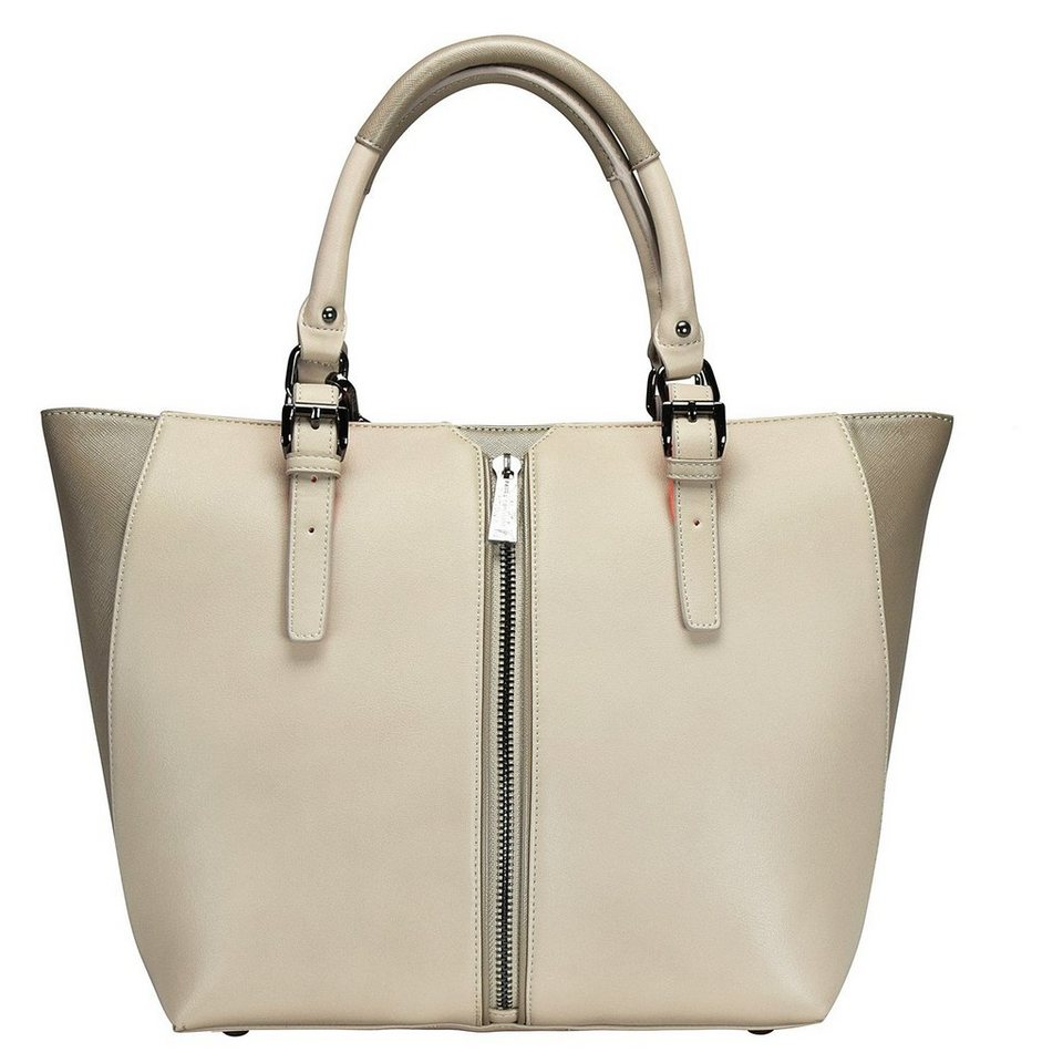 Paul's Boutique Conner Shopper Tasche 14 cm in beige/taupe