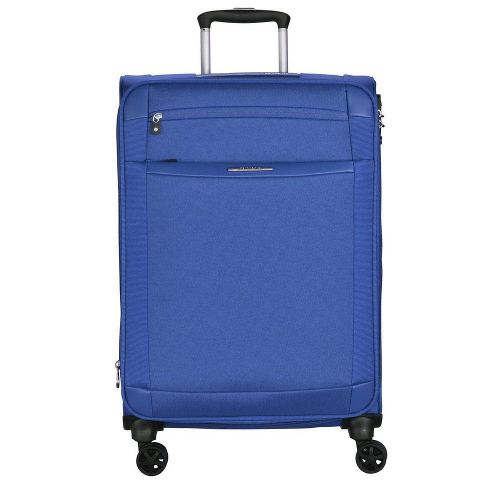 Samsonite Dynamo Spinner 4-Rollen Trolley 78 cm in royal blue