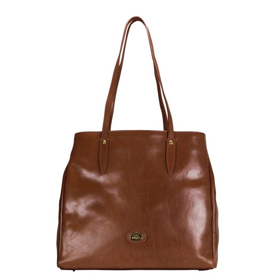 The Bridge Story Donna Shopper Tasche Leder 32 cm in marrone