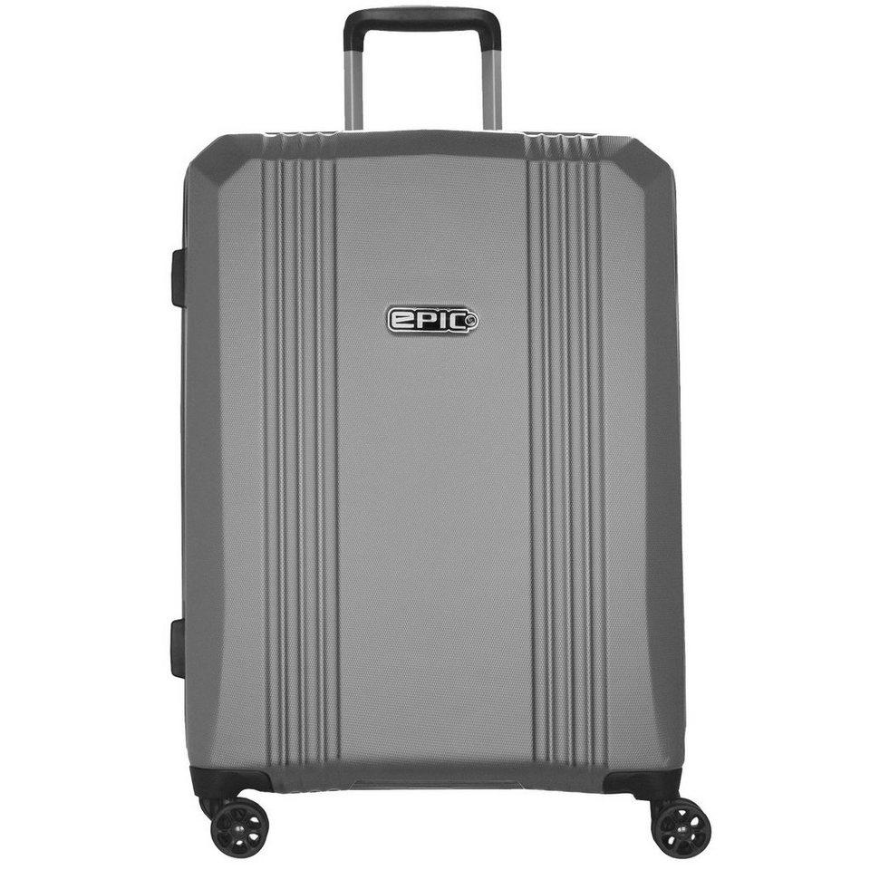 EPIC Airwave 4-Rollen Trolley 65 cm in silvercolored