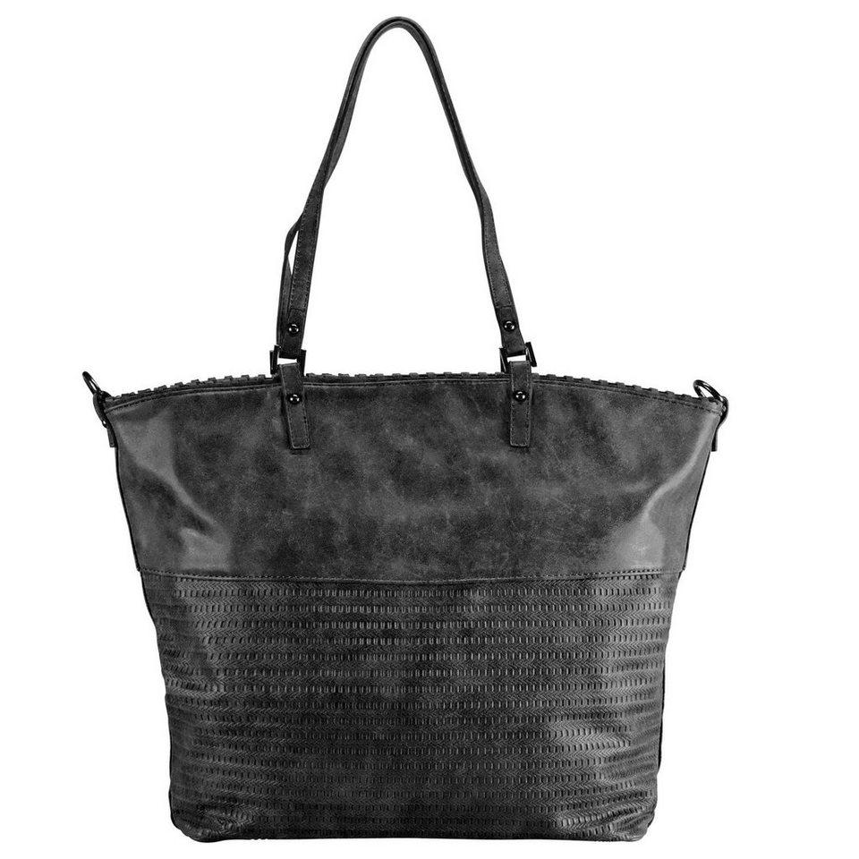 Maestro Surprise Bag in Bag Shopper Tasche 46 cm in schwarz