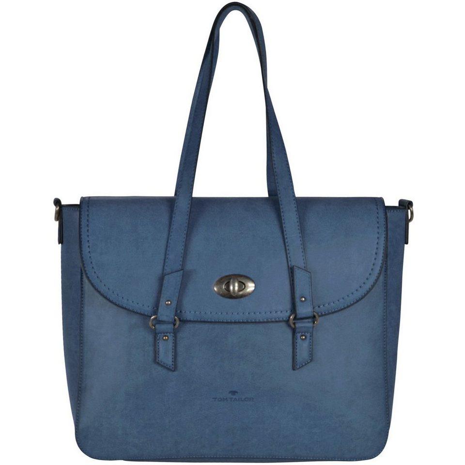 TOM TAILOR Milena Handtasche 40 cm in blau