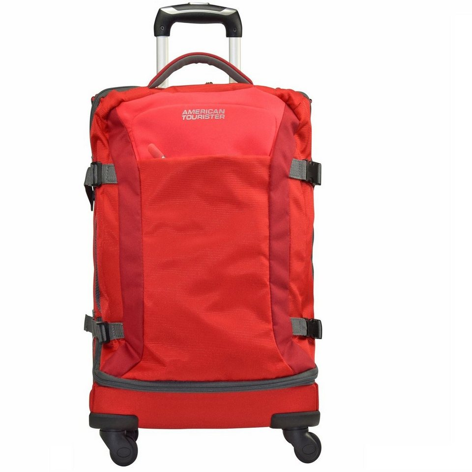 American Tourister Road Quest 4-Rollen Reisetasche Duffle 77 cm in solid red