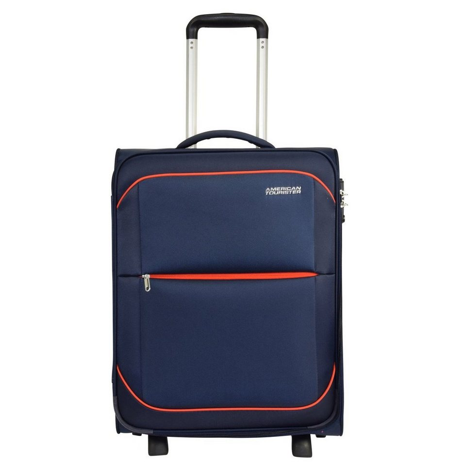 American Tourister Sunbeam Upright 2-Rollen Kabinentrolley 55 cm in nordic blue
