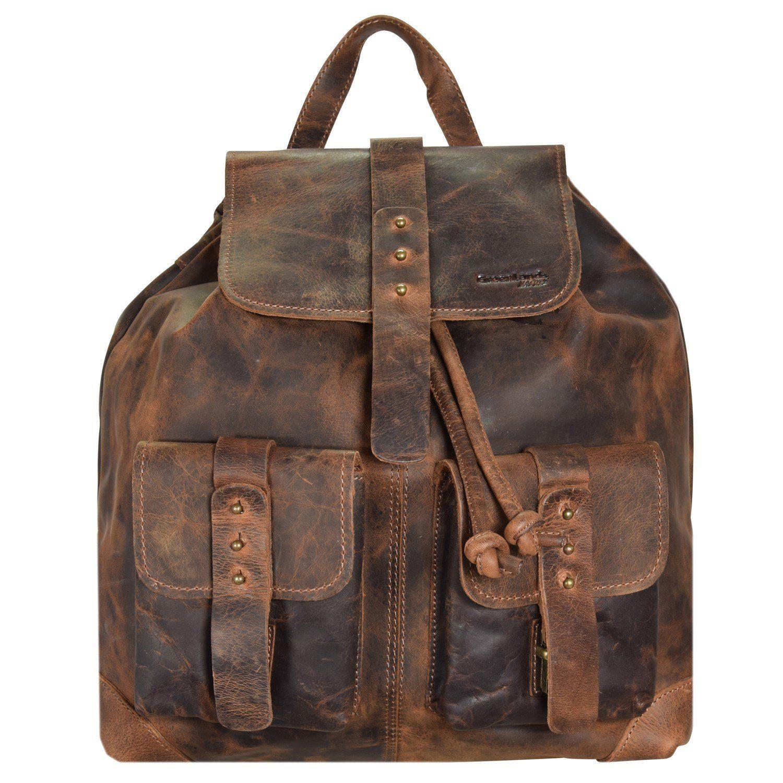 Classic Handtasche Leder 37 cm Greenland HfqYkQ4r