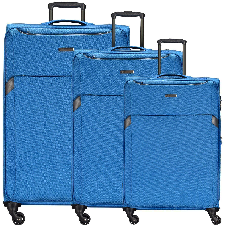 d & n Travel Line 7604 4-Rollen Trolley-Set 3-tlg.