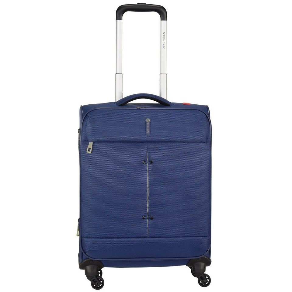 Roncato Roncato Ironik 4-Rollen Kabinentrolley 55 cm in blu notte