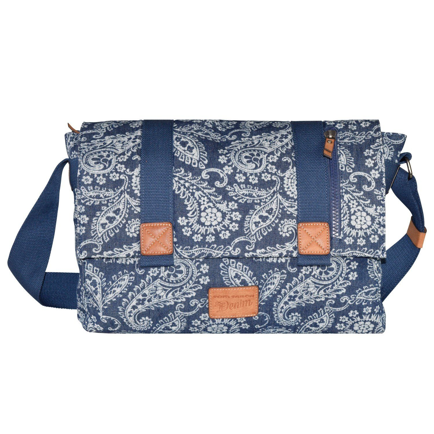 Tom Tailor Denim Madison Messenger Tasche 41 cm