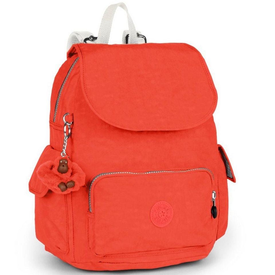 Kipling Kipling Basic City Pack S Rucksack 33,5 cm in coral rose c