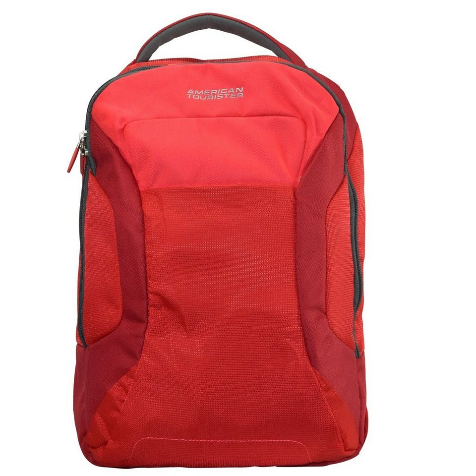 American Tourister Road Quest Rucksack 43 cm Laptopfach in solid red