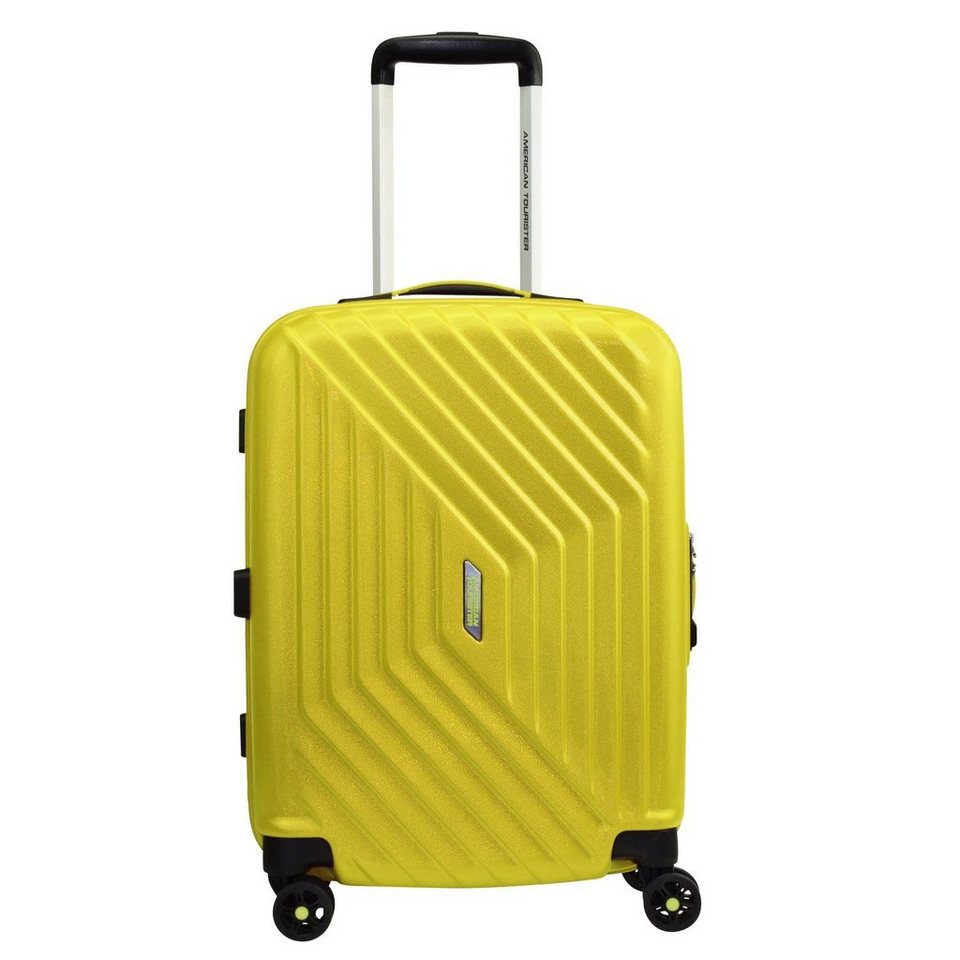American Tourister American Tourister Air Force 1 Spinner 4-Rollen Kabinen Trolley in sunny yellow