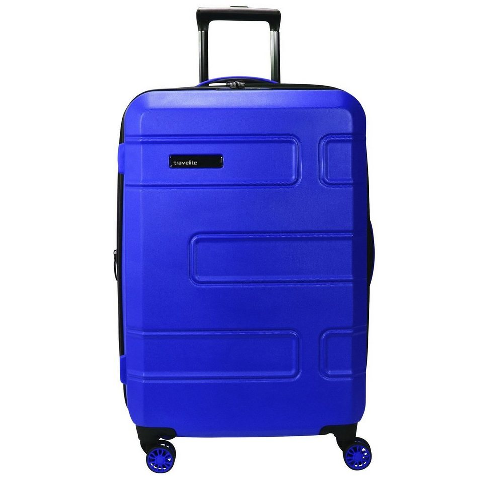 travelite Travelite Move 4-Rollen Trolley 76 cm in lila blau