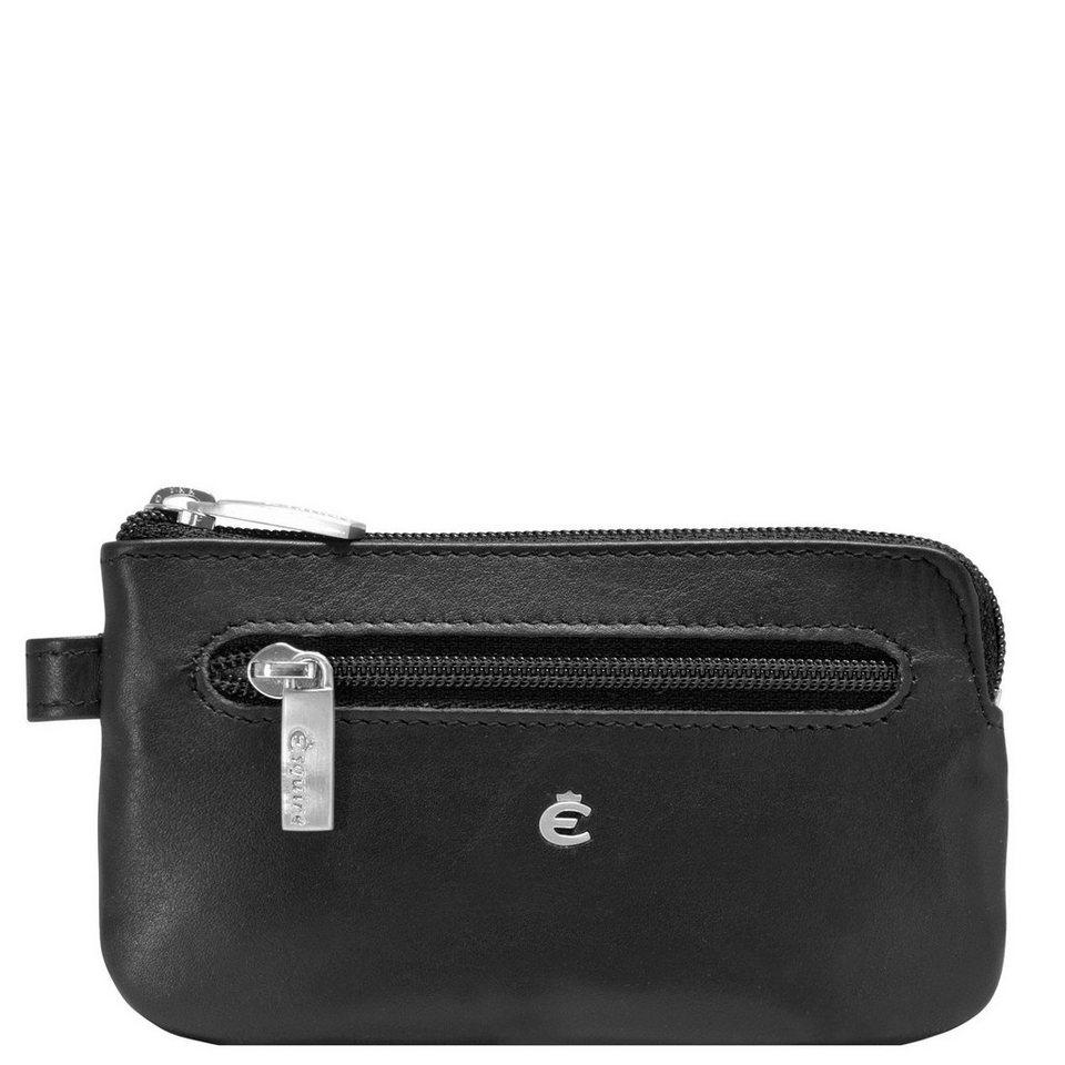 Esquire Helena Schlüsseletui Leder 12 cm in schwarz