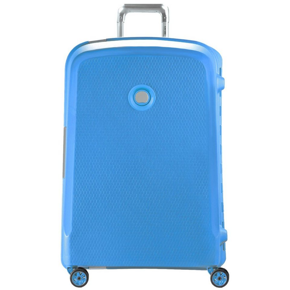 Delsey Belfort Plus 4-Rollen Trolley 82 cm in teal blue
