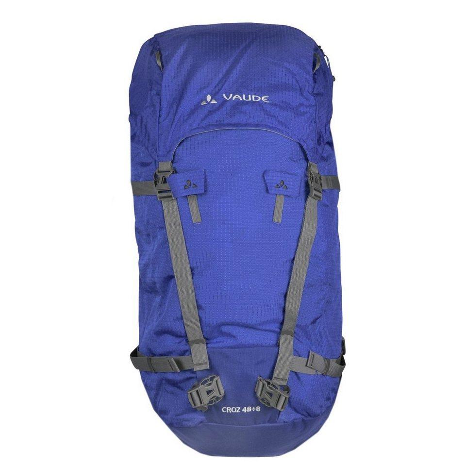 VAUDE Trek & Trail Croz 48+8 Rucksack 56 cm in hydro blue
