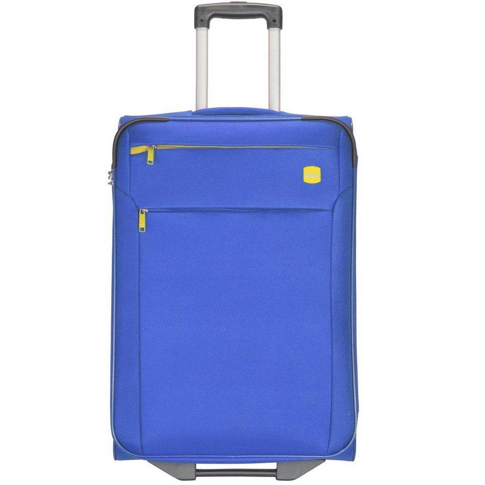 d & n Travel Line 7100 2-Rollen Kabinentrolley 52 cm in blau