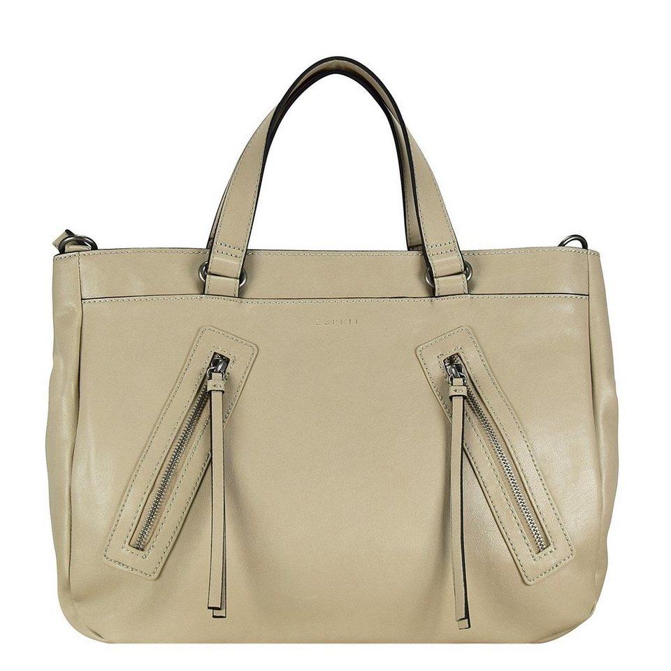 ESPRIT Charlotte Shopper Tasche 37 cm in beige