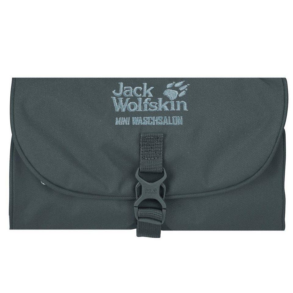 Jack Wolfskin Jack Wolfskin Travel Accessories Mini Waschsalon 16 Kulturtasche in greenish grey