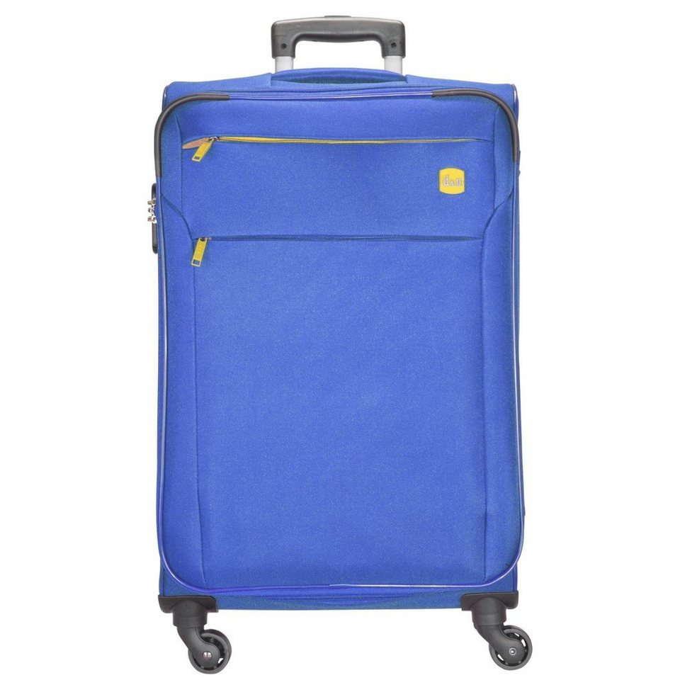 d & n Travel Line 7104 4-Rollen Tolley 72 cm in blau
