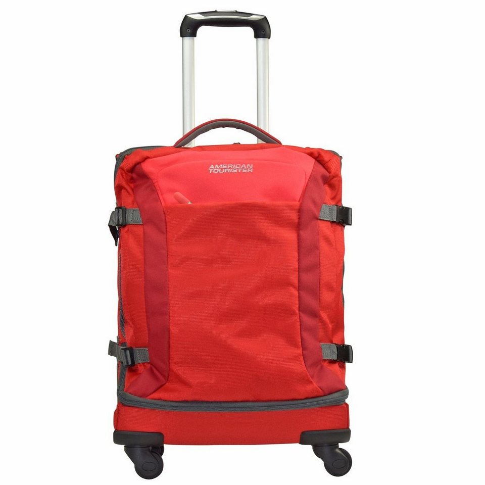 American Tourister Road Quest 4-Rollen Reisetasche Duffle 55 cm in solid red