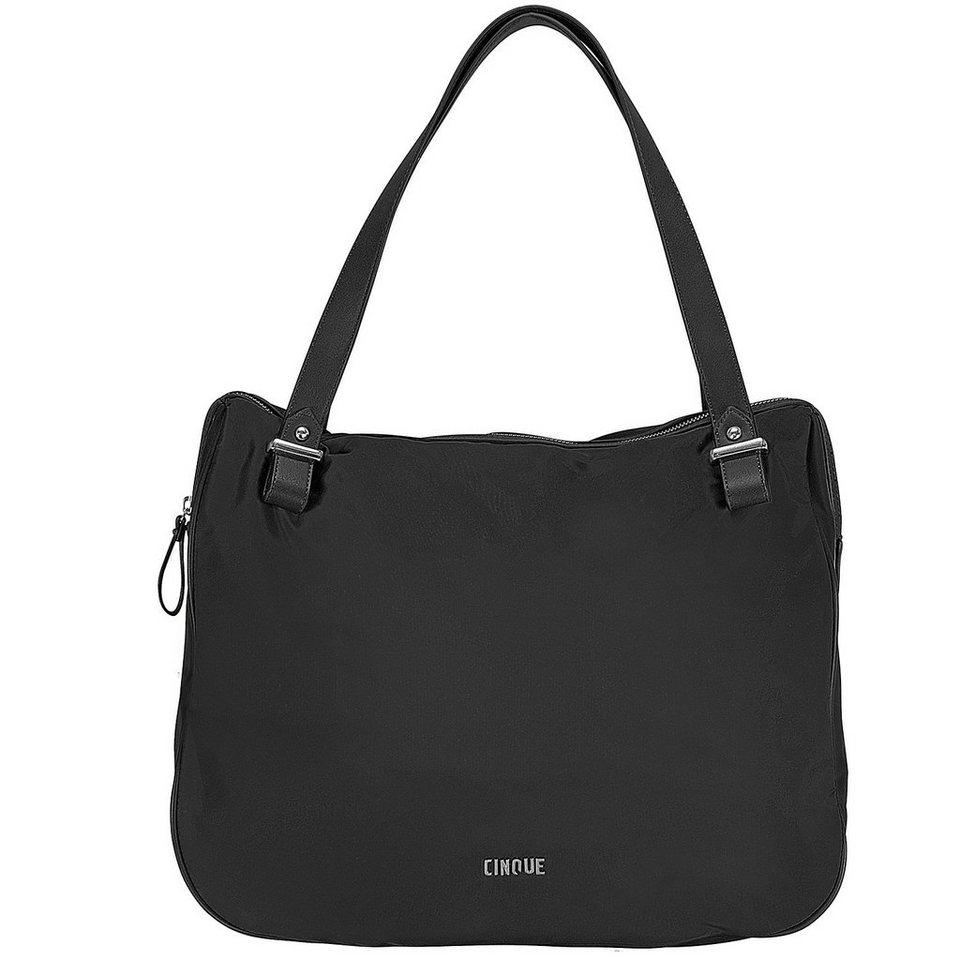 Cinque Lavia Shopper Tasche 40 cm in schwarz