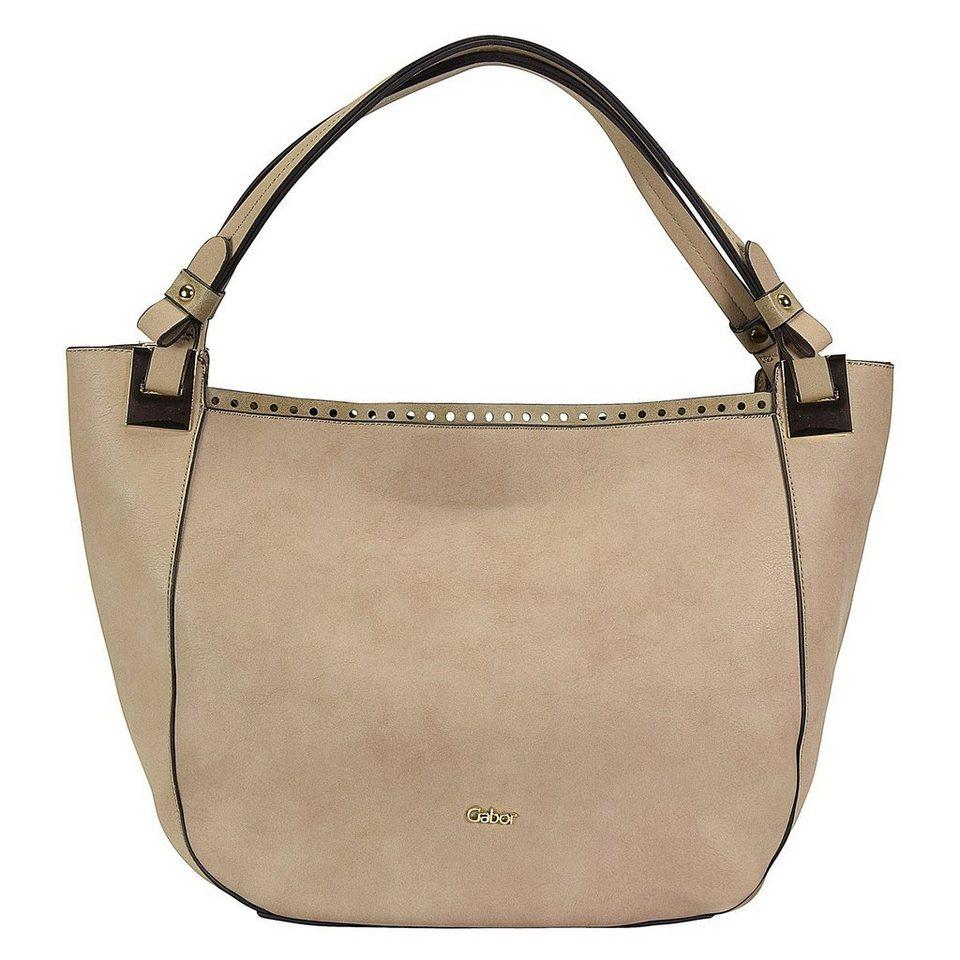 GABOR Davina Shopper Tasche 43 cm in taupe