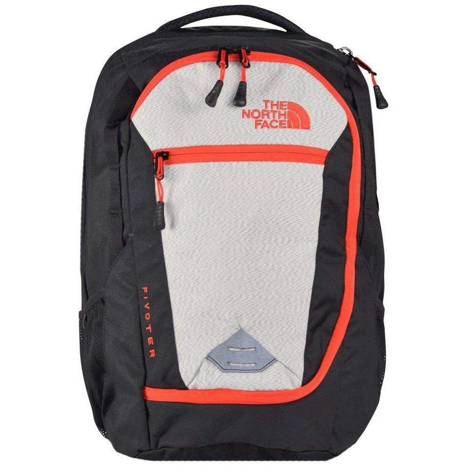 The North Face Base Camp Pivoter Backpack Rucksack 48 cm in tnf black - fiery re