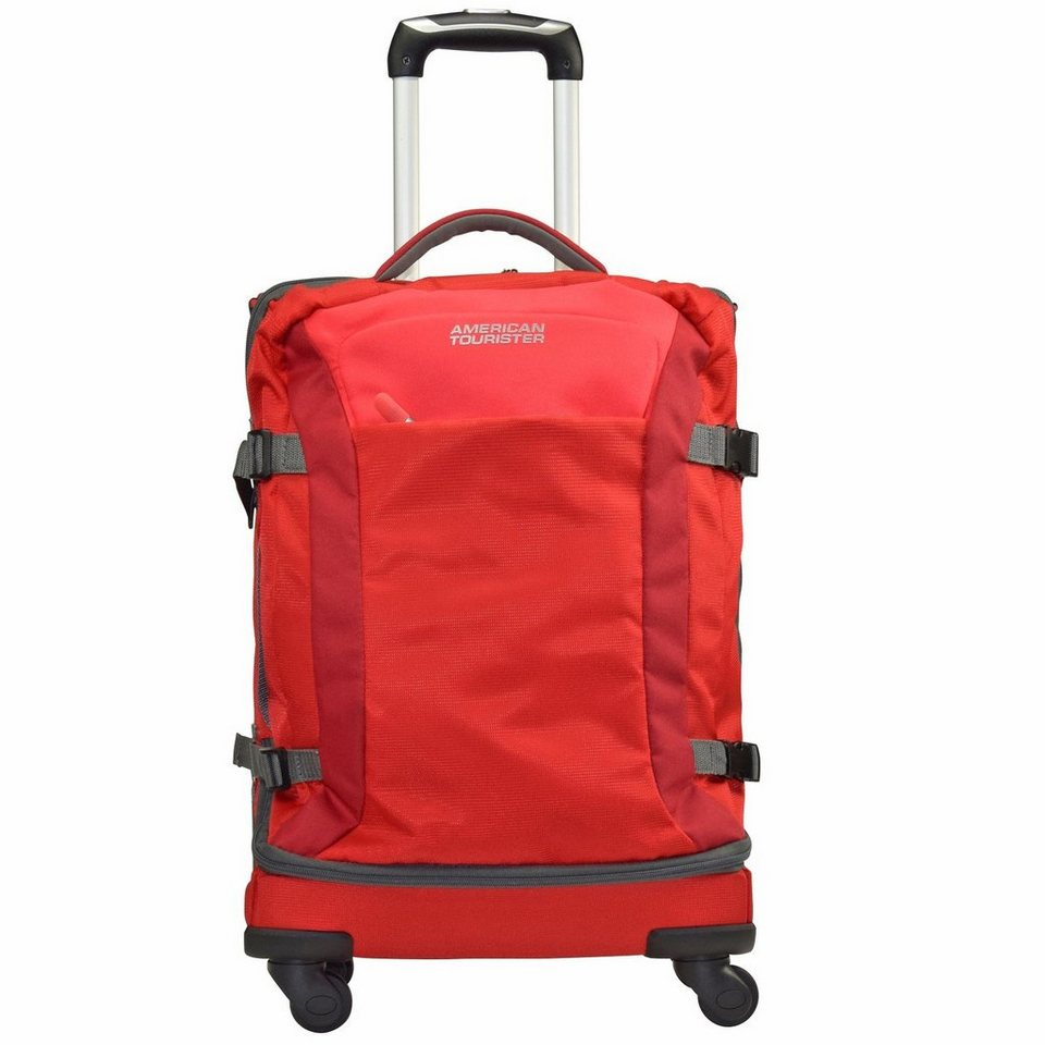 American Tourister Road Quest 4-Rollen Reisetasche Duffle 67 cm in solid red