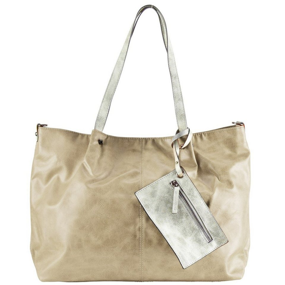 Maestro Maestro Surprise 16 Bag in Bag Shopper Tasche 45 cm in sand ice