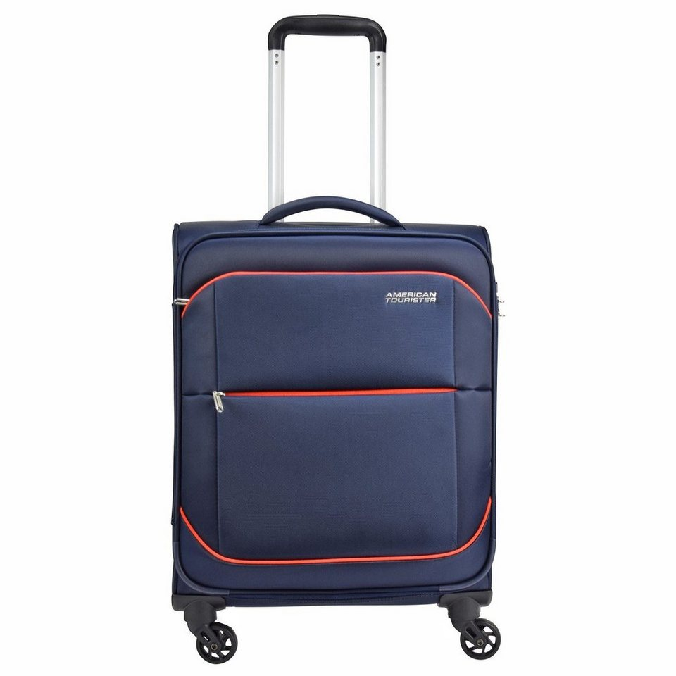 American Tourister Sunbeam Spinner 4-Rollen Kabinentrolley 55 cm in nordic blue
