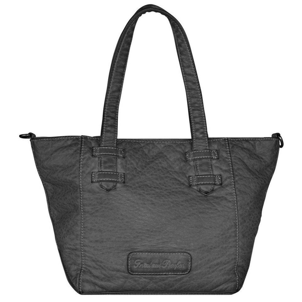 Fritzi aus Preußen Kiki Washed Handtasche 29 cm in black