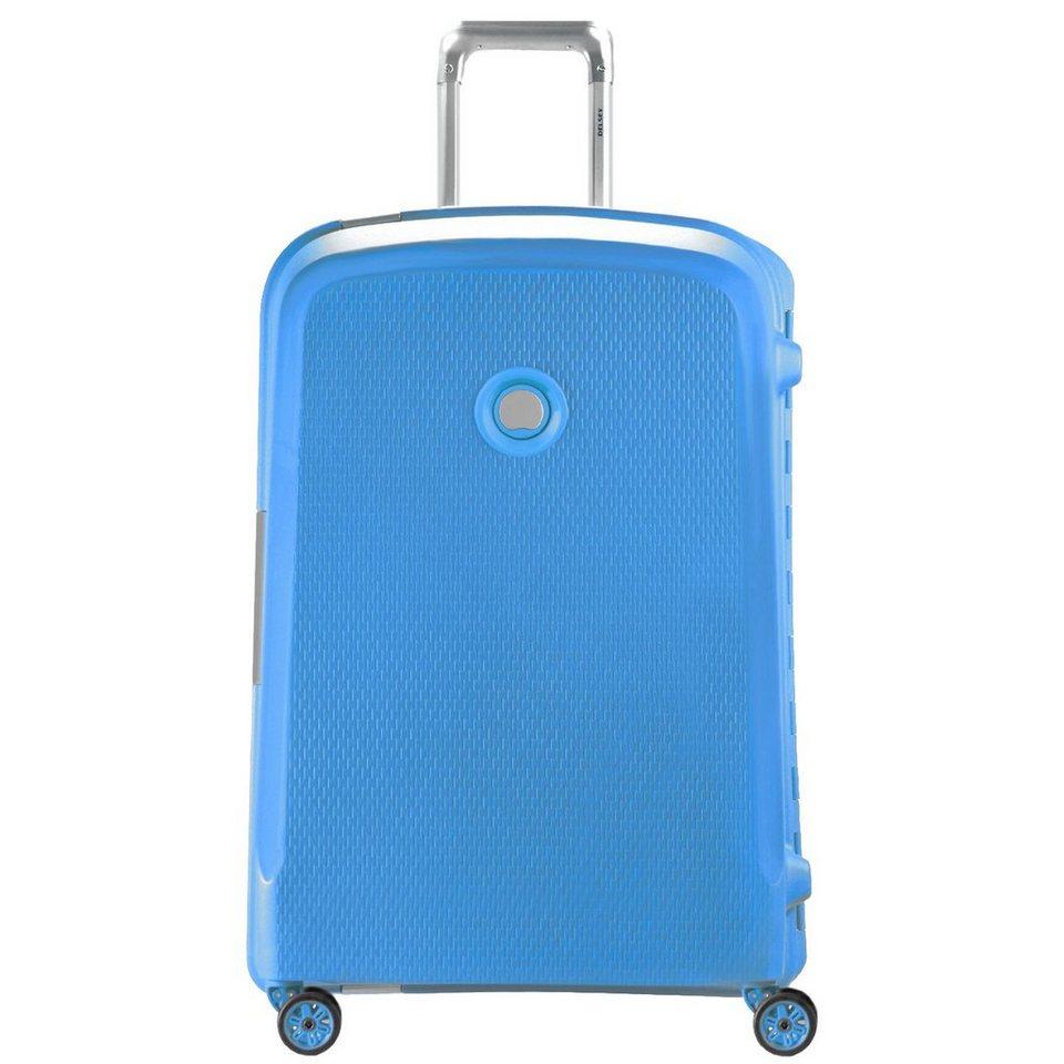Delsey Delsey Belfort Plus 4-Rollen Trolley 76 cm in teal blue