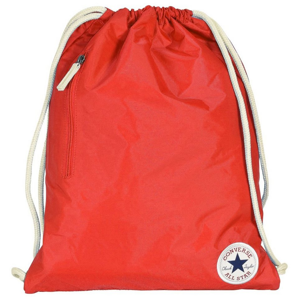 CONVERSE Converse Core Poly Cinch Gymsack Sportbeutel 32 cm in converse red