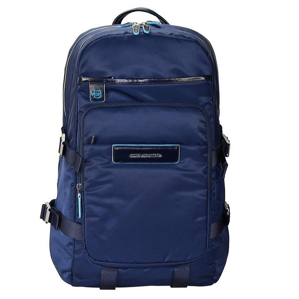 Piquadro Piquadro Celion Rucksack 44 cm Laptopfach in blau