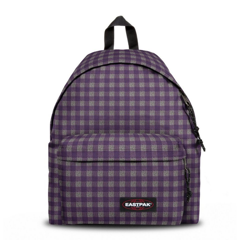 EASTPAK Authentic Collection Padded Pak'r 161 Rucksack 40 cm in checksange purple
